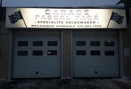 Garage pascal pag enseigne lettrage yr for Garage pascal montfermeil